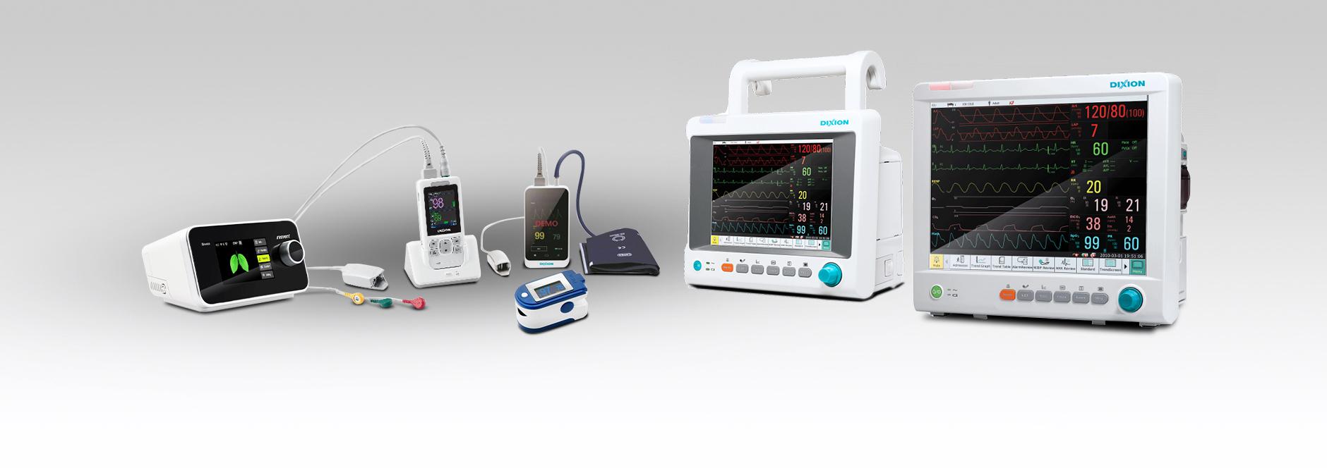 Medizinische Geräte zur Behandlung von COVID-19-Patienten